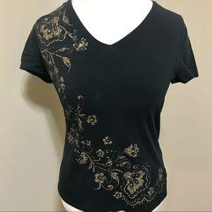 Sonoma Navy Shirt. Beautiful Design!
